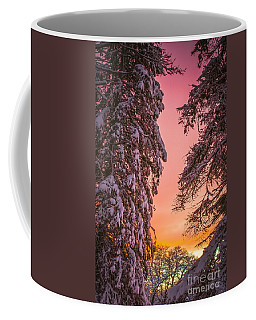 Sunset After Snow Coffee Mug by Mike Ste Marie