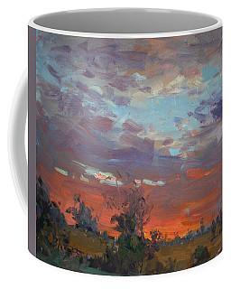 Sunset After Thunderstorm Coffee Mug