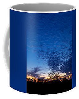 Sunset And Moon Sliver Coffee Mug