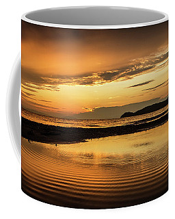 Sunset And Reflection Coffee Mug