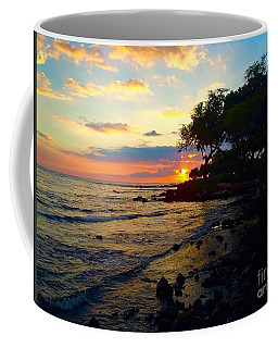 Sunset At A-bay Coffee Mug