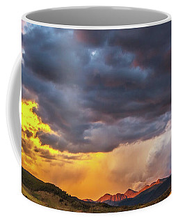 Sunset At Arapahoe Basin And Keystone Coffee Mug