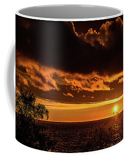 Coffee Mug featuring the photograph Sunset At Bay Harbor by Onyonet  Photo Studios