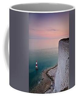 Sunset At Beachy Head Coffee Mug