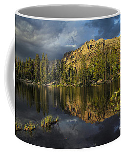 Sunset At Butterfly Lake Coffee Mug