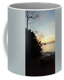 Sunset At Chrystal Beach Coffee Mug