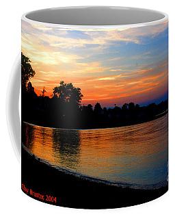 Sunset At Colonial Beach Cove Coffee Mug