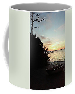 Sunset At Crystal Beach Coffee Mug