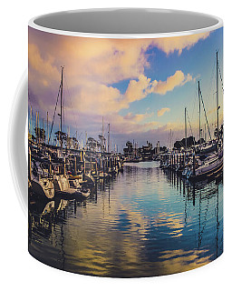 Sunset At Dana Point Harbor Coffee Mug