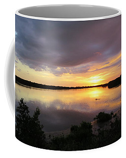 Coffee Mug featuring the photograph Sunset At Ding Darling by Melinda Saminski