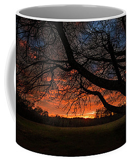 Sunset At Elderville Coffee Mug