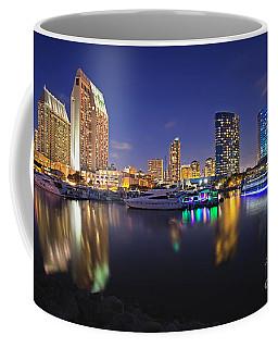Sunset At Embarcadero Marina Park In San Diego Coffee Mug