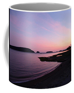 Sunset At Five Islands Coffee Mug