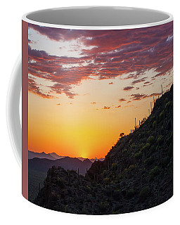 Sunset At Gate's Pass Coffee Mug