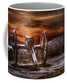 Sunset At Gettysburg Coffee Mug