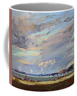 Sunset At Fishermans Park Coffee Mug