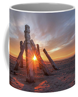 Coffee Mug featuring the photograph Sunset At Great Salt Lake by Spencer Baugh
