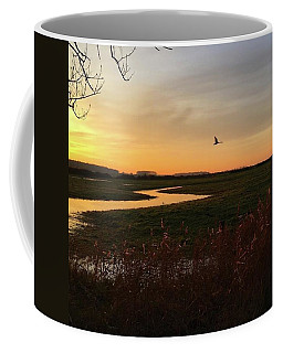 Sunset At Holkham Today  #landscape Coffee Mug