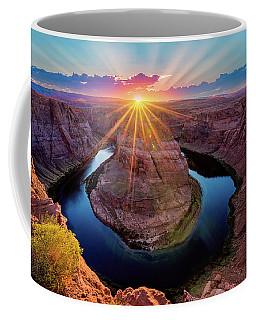 Sunset At Horseshoe Bend Coffee Mug
