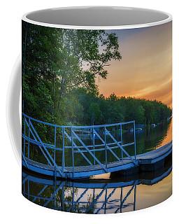 Sunset At Kearney Lake Coffee Mug