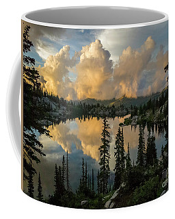 Coffee Mug featuring the photograph Sunset At Lake Mary by Spencer Baugh