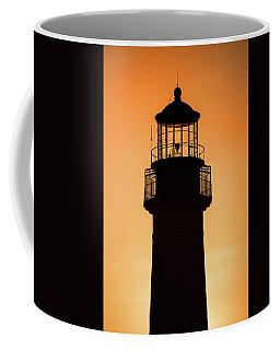 Sunset At Lighthouse Coffee Mug