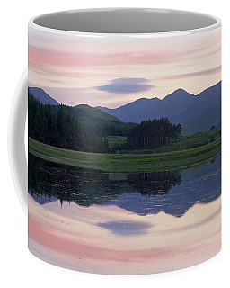 Sunset At Loch Tulla Coffee Mug