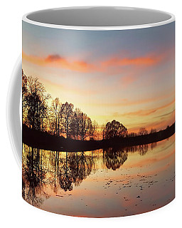 Sunset At Mahr Park Coffee Mug