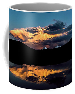 Sunset At Mount Guyot And Bald Mountain Coffee Mug
