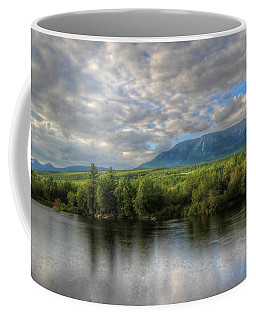 Sunset At Mt. Katahdin Coffee Mug
