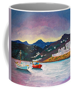 Sunset At Mykonos Coffee Mug
