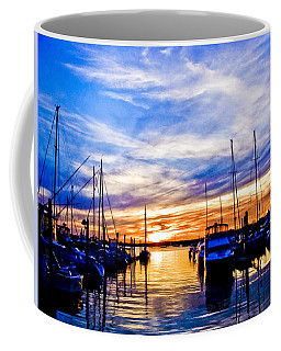 Sunset At Newport Coffee Mug