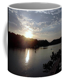 Sunset At Occoquan Coffee Mug