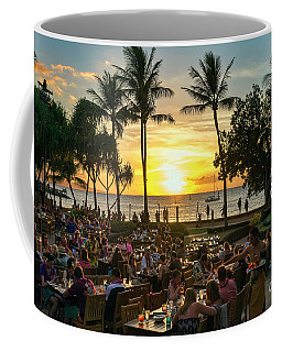 Sunset At Old Lahaina Luau #1 Coffee Mug