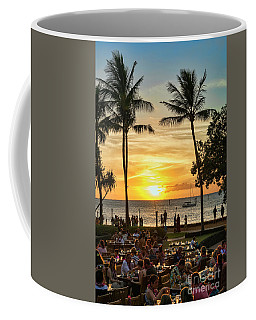Sunset At Old Lahina Luau #2 Coffee Mug