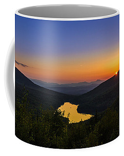 Sunset At Owls Head Coffee Mug by Tim Kirchoff