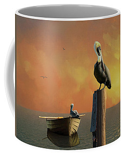 Sunset At Pelican Cove Coffee Mug