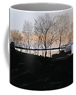 Sunset At Pelican Lake Coffee Mug