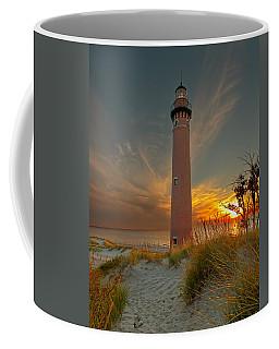 Sunset At Petite Pointe Au Sable Coffee Mug