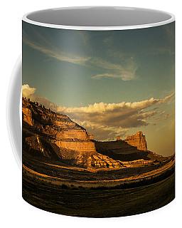 Sunset At Scotts Bluff National Monument Coffee Mug