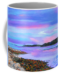 Sunset At Secret Cove Coffee Mug