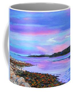 Sunset At Secret Cove Coffee Mug