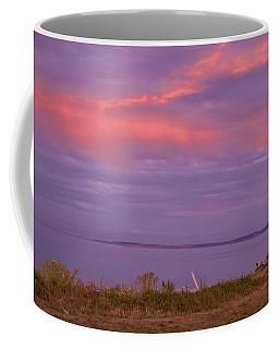 Sunset At Sequim Coffee Mug