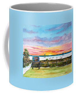 Sunset At Siesta Key Public Beach Coffee Mug