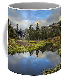 Sunset At Silver Lake Outlet Coffee Mug