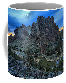 Sunset At Smith Rock Coffee Mug