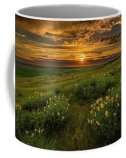 Sunset At Steptoe Butte Coffee Mug