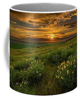 Sunset At Steptoe Butte Coffee Mug
