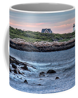 Sunset At Straitsmouth Light Coffee Mug