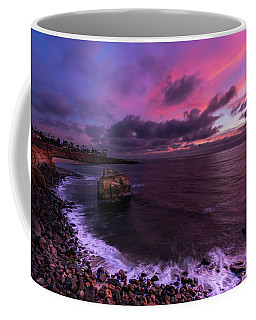 Sunset At Sunset Cliffs Coffee Mug